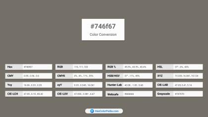 746f67 Color Conversion