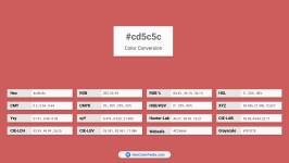 cd5c5c Color Conversion