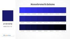 191970 Monochromatic Scheme