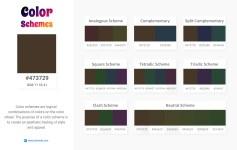473729 Color Schemes