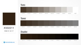 332211 Tints tones & Shades