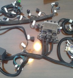 just send your engine harness pcm c1 obd and pedal connector to lime swap if you do not have all connectors just let us know and we ll provide them  [ 2481 x 1693 Pixel ]