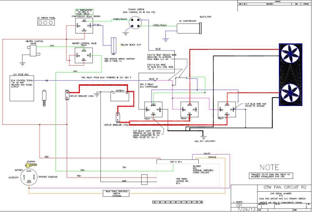 medium resolution of painless ls wiring diagram for dual fans wiring library rh 40 mac happen de car dual fan wiring diagram 2 speed fan wiring