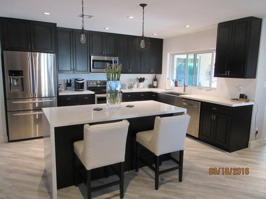 kitchen cabinets phoenix aqua utensils free designs granite countertops tile