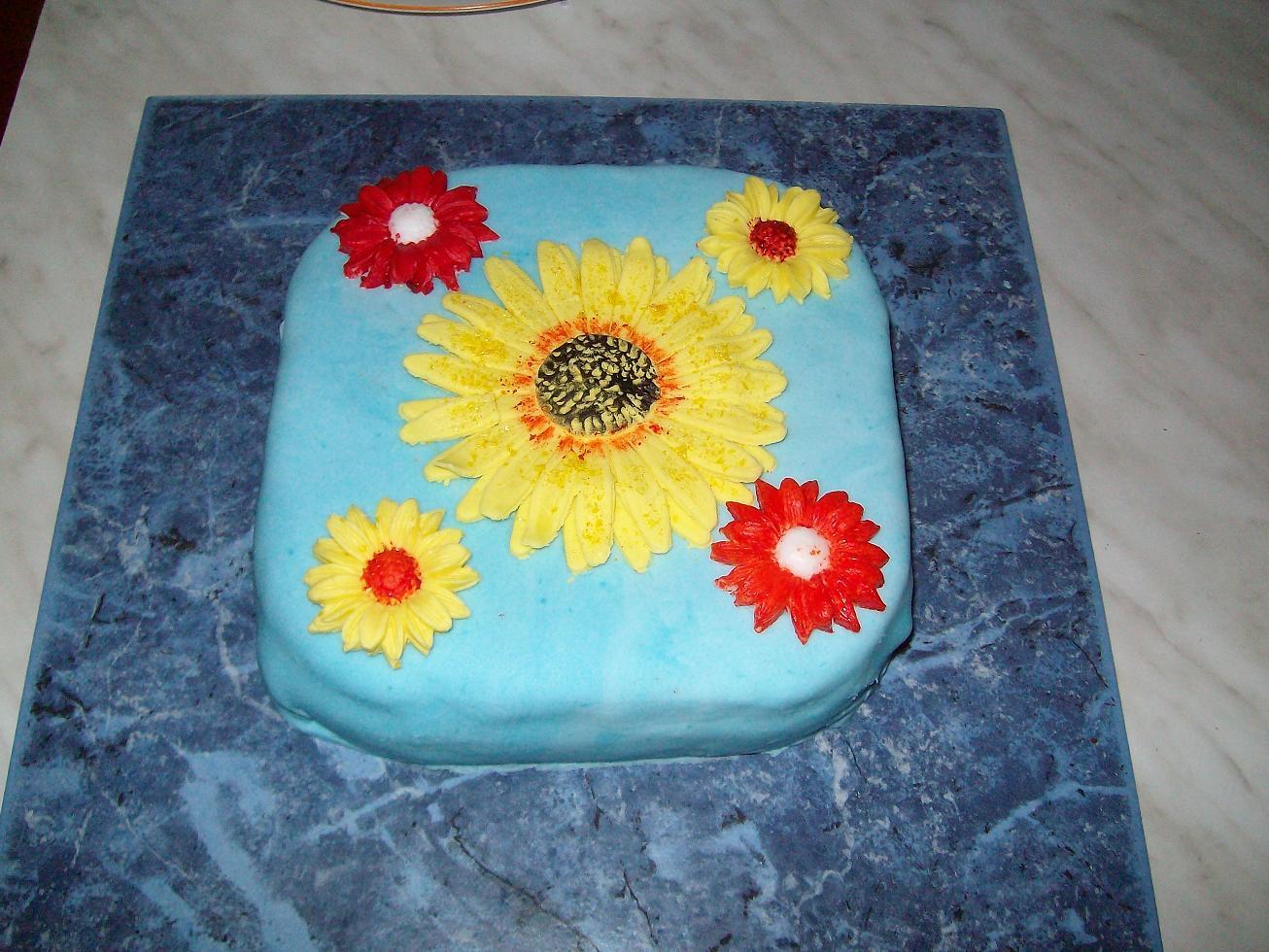 Besondere Anlsse 1  kleine Torte zum Hochzeitstag