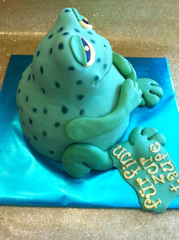 GeburtstagKinder  Meine Freundin wnschte sich einen Frosch