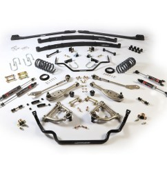 1967 70 ford mustang stage 2 tvs suspension system small block [ 1500 x 1500 Pixel ]
