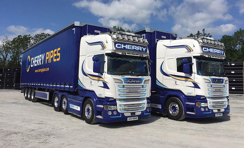 irishtrucker our lorries are