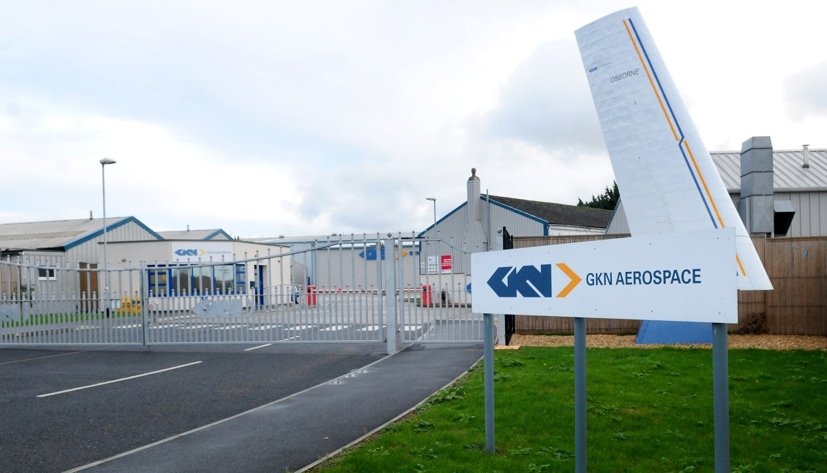 GKN, which has a base in East Cowes, has rejected a takeover bid.