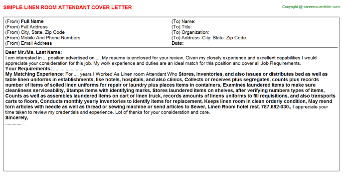 Fuel Attendant Cover Letters Samples