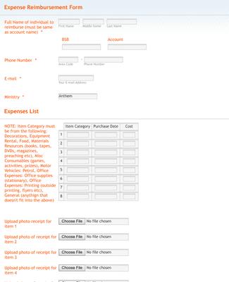 This expense reimbursement form template is the easiest way to collect reimbursement requests from employees. Request For Reimbursement Form Template Jotform