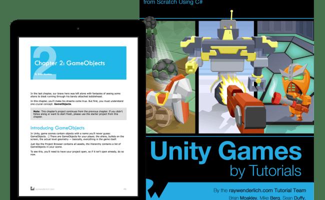 Unity Games By Tutorials Raywenderlich Store