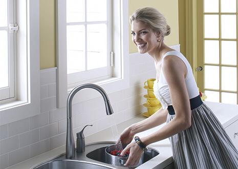 kitchen mixer faucet extension hose 科勒厨房龙头 厨房用水龙头品牌 科勒厨房龙头价格 科勒kohler厨卫官网 karbon 随心动厨房龙头 台面式