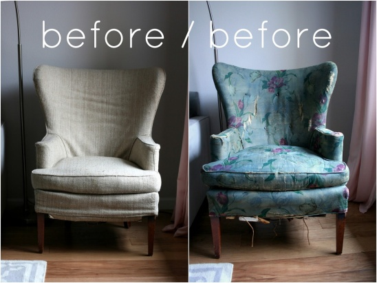 armchair cover diy malibu pilates chair wall chart vintage wingback slipcover by create/enjoy | project sewing home decor ...