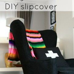 How To Make Slipcover For Wingback Chair Collapsable High Vintage Diy By Create Enjoy Project