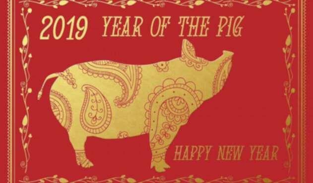 Según el horóscopo chino, el 2019 es el año del cerdo.