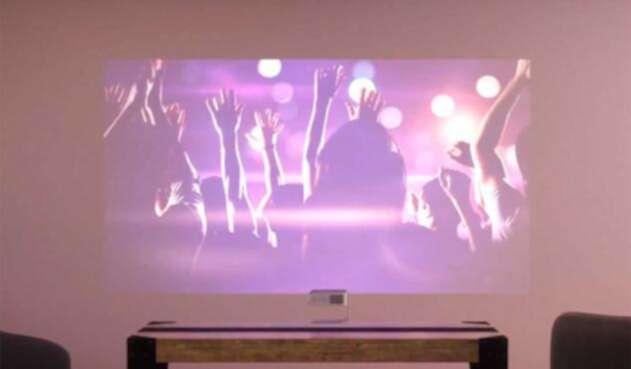 Un proyector gaming permite aprovechar espacios
