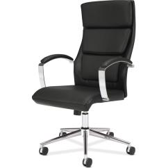 Hair On Hide Office Chair Back Jack Floor Australia Basyx By Hon Hvl105 Executive High Zerbee