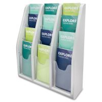 deflecto Countertop/Wall Mount Literature Display