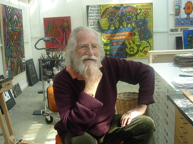 Alan Davie at 90  A colourful history  The List