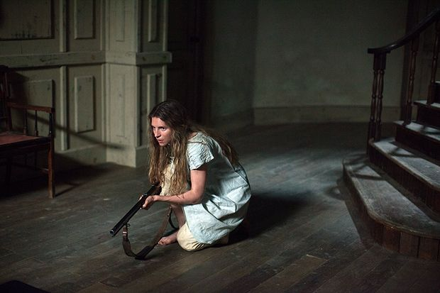 The Keeping Room review  Brit Marling and Hailee Steinfeld protect their homestead in a