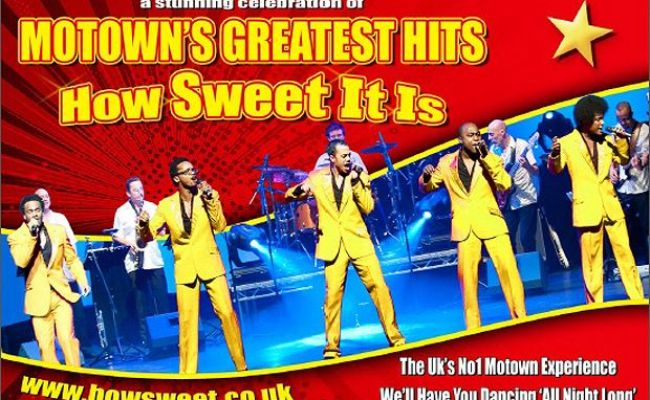Motown S Greatest Hits How Sweet It Is 2020 Uk Tour