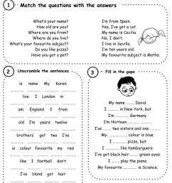 All about me worksheet [ 1411 x 1000 Pixel ]
