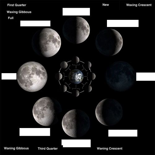 small resolution of phases of moon worksheet