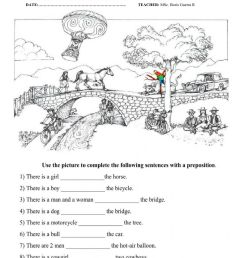 PREPOSITIONS TEST worksheet [ 1413 x 1000 Pixel ]