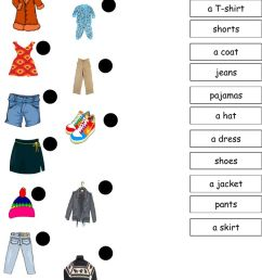 There is There are Clothes worksheet [ 1443 x 1000 Pixel ]