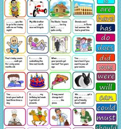Auxiliary verbs worksheet [ 1413 x 1000 Pixel ]