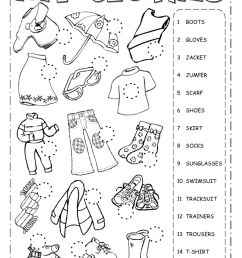 The clothes interactive worksheet [ 1413 x 1000 Pixel ]