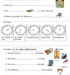 Review - unit 1 and 2 third grade interactive worksheet [ 1291 x 1000 Pixel ]