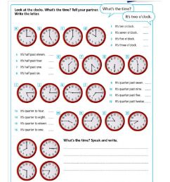 Telling the time worksheet [ 1291 x 1000 Pixel ]
