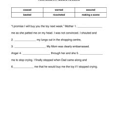 Extra credit: Cloze passage 2 worksheet [ 1413 x 1000 Pixel ]