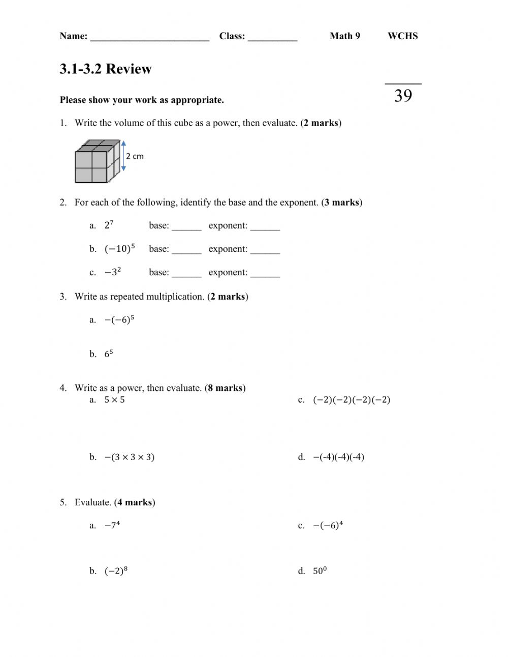 hight resolution of 3.1-3.2 Review Assignment worksheet