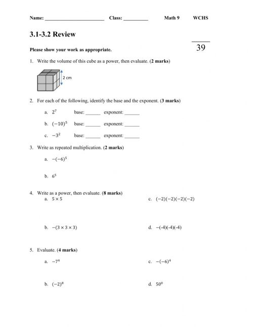 small resolution of 3.1-3.2 Review Assignment worksheet