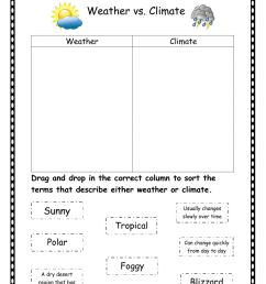Weather vs climate worksheet [ 1291 x 1000 Pixel ]