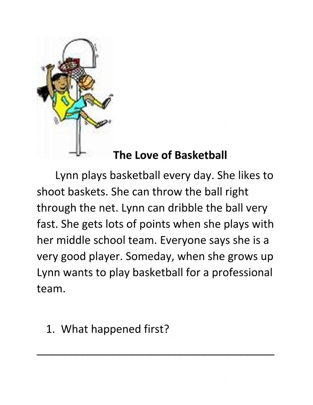 hight resolution of Retelling a story worksheet