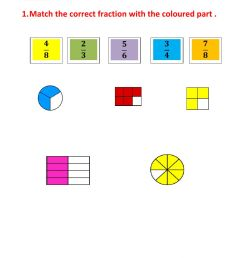 Fraction worksheet for GRADE 4 [ 1413 x 1000 Pixel ]