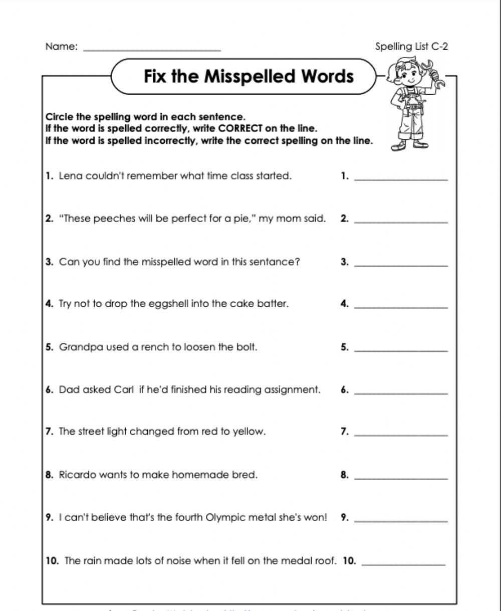 hight resolution of Correct or incorrect? c-2 4th grade worksheet