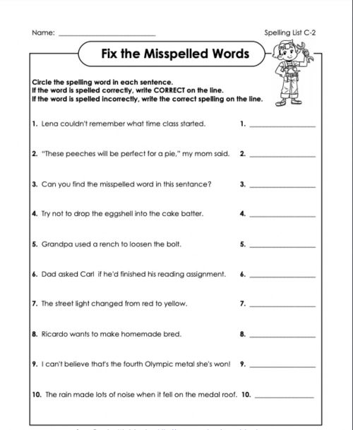 small resolution of Correct or incorrect? c-2 4th grade worksheet