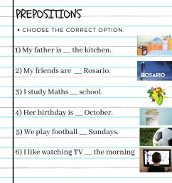 Prepositions online exercise for GRADE 6 [ 1000 x 1000 Pixel ]