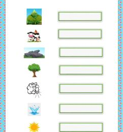 Natural Resources worksheet for 2nd grade [ 1291 x 1000 Pixel ]
