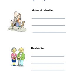 Helping neighbors worksheet [ 1291 x 1000 Pixel ]