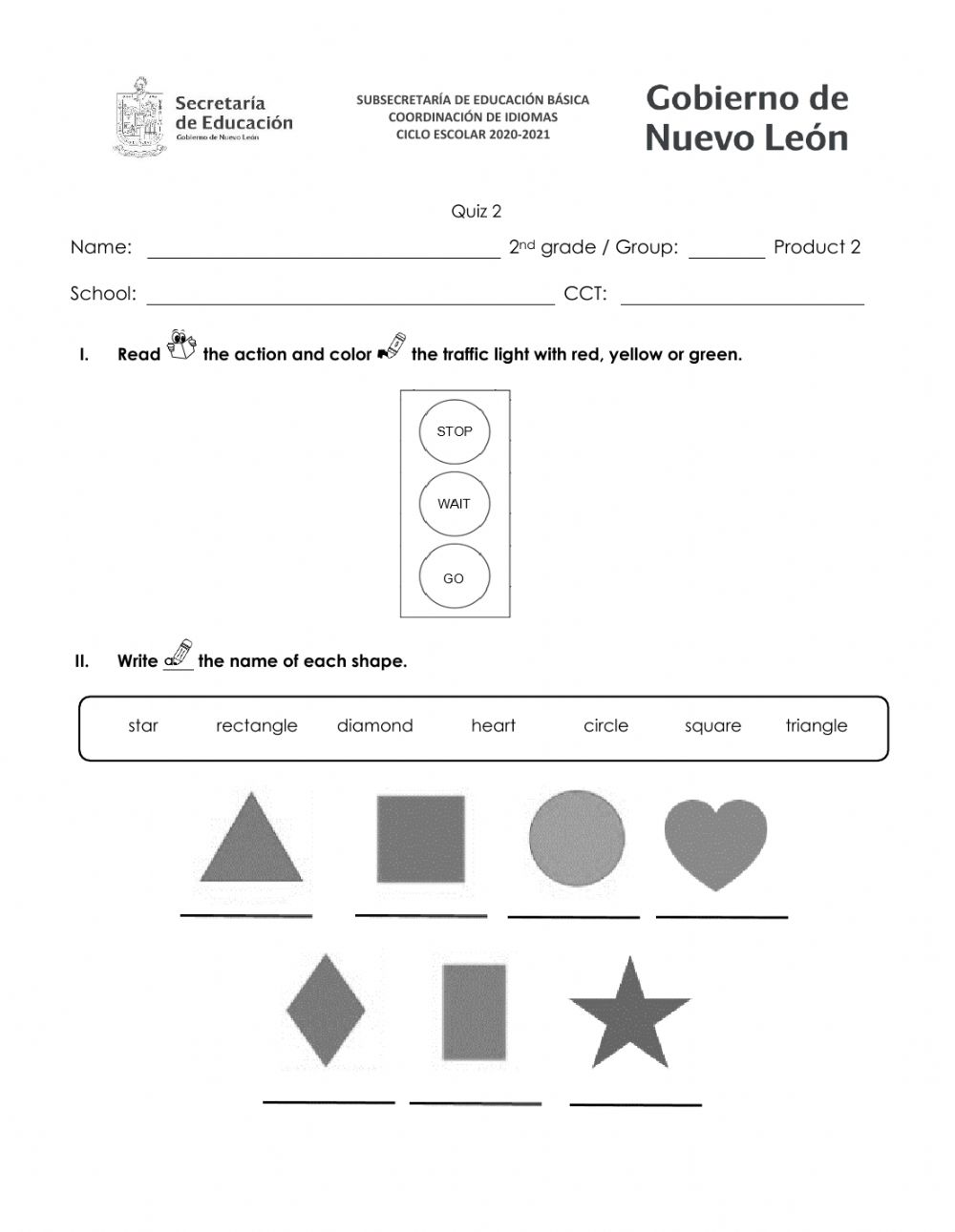 hight resolution of 2nd Grade Product 2 worksheet