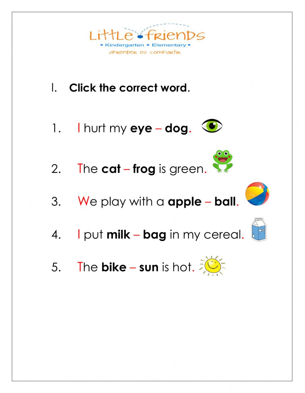 hight resolution of Spelling interactive worksheet for 1st grade