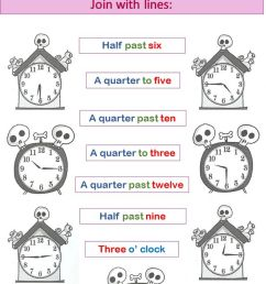 The Time interactive worksheet for 4th grade [ 1444 x 1000 Pixel ]