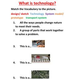 What is technology worksheet [ 1291 x 1000 Pixel ]