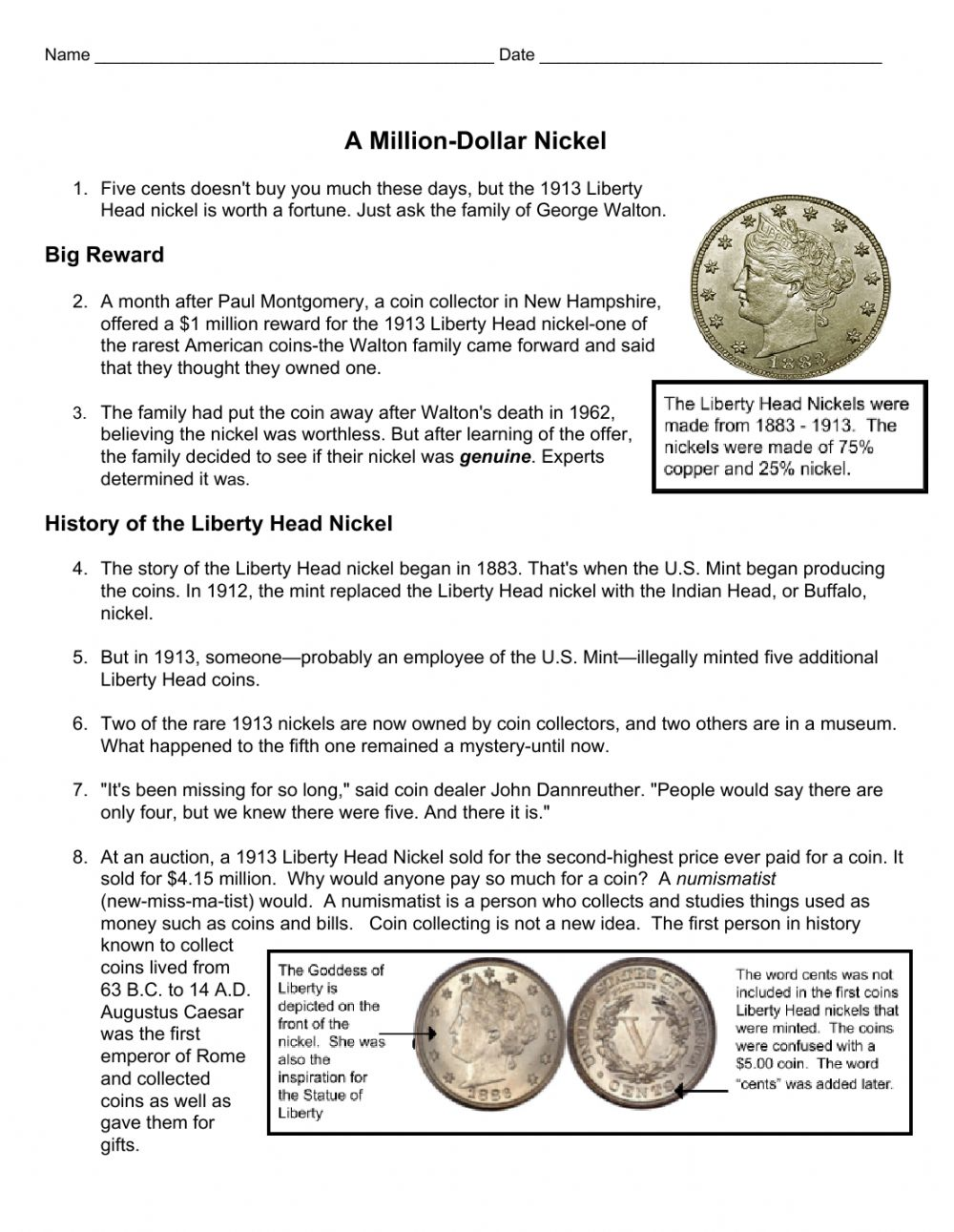 hight resolution of Nonfiction Text Features worksheet